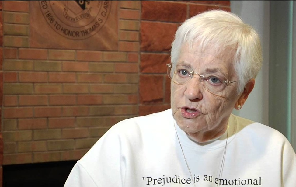 "Prominent Racial Activist Jane Elliot on ""Acting White"", Black Lives Matter, and Love vs. Justice"