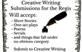 Calling Creative Writers!